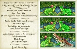 A Poem of Frogs by helloheath