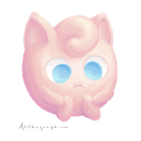 Jigglypuff by Alithographica