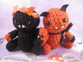 Halloween Monster Set by AmiTownCreatures