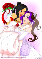 Brides-To-Be by LightDarkSoySauce