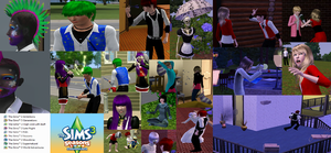 More Sims 3 Derpness by AliciaAngelina