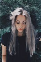 grey hair for a grey day by RioTAngiE