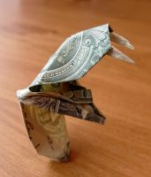Dollar bill Cobra by craigfoldsfives