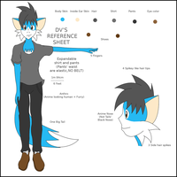 DV REFERENCE SHEET 2011 by dantiscus
