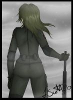 MGS: Sniper Wolf by SnipeTheSorrow