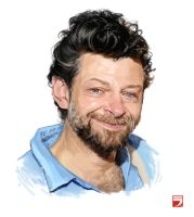 Andy Serkis by Layerx3