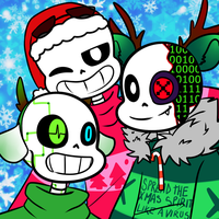 InfectionsTale Christmas by UniverseCipher