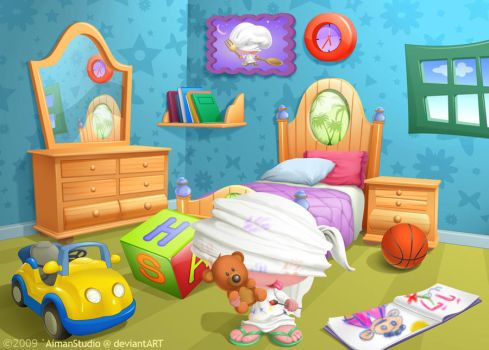 Cartoon Backgrounds By Aimanstudio On Deviantart