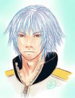 KH3D - Riku by Peach-Cobbler
