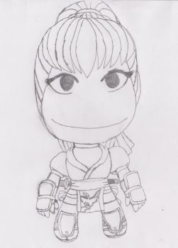 Kasumi of Dead or Alive (LBP Style) by LeiFangHelenaFan