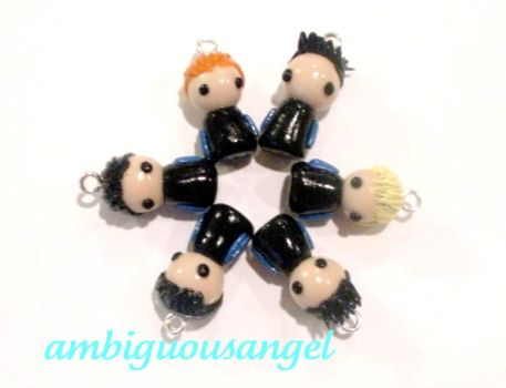 2PM Figurine Charms by AmbiguousAngel