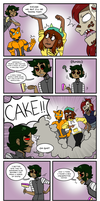 Kevin Steals the Cake??? by Partulla