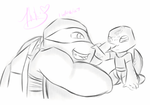 ANIMATION: DADDY RAPHIE by Mikibaby94