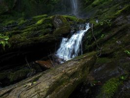 Waterfall 121 by AlissaDStock