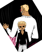 OP: Doflamingo (Then and Now) by nativeMIRACLE2