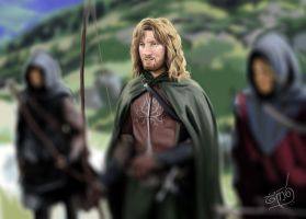 Faramir by CaranDulin