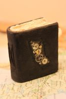 miniature steam punk style book/journal by izibel1