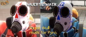 Muerete mask by TheOctoberScarf