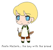 Peeta Mellark by BertMel