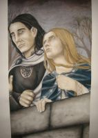 Eowyn and Faramir by RohanElf