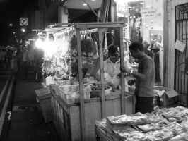Little India at Night. by ShutterSpd