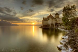 Chillon -  A fairytale Castle by BrunoCHATARD