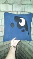 MLP Luna Pillow by Creation-Vocation