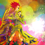 roxas and axel by sqexgal