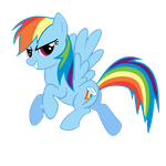 Rainbow Dash Showing Off by theaceofspadez