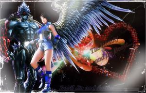 The Beauty And The Beast (devil jin and asuka) by MaryLander97