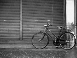 The Elegy of Old Bicycle by Musashigyo