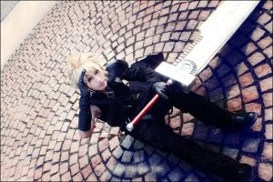 Cloud cosplay by BaoziandHana