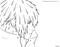 Noctis: Nomura Style Lineart by recklessabandoned182
