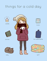 Things For A Cold Day by dreamybean