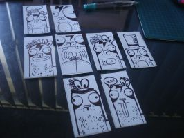 some more time lapse stickies by tragic-ink