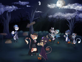 #1 Event - The Hollowbean Trick or treat  by xSeamair