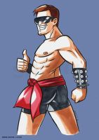 Johnny Cage by snow-j