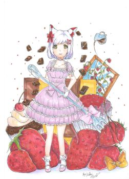 Special Commission:cute Lolita 2 by Choulaphone