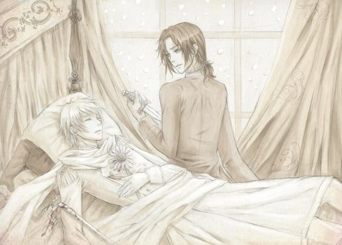 Hetalia: Russia and Lithuania by Yue-Iceseal