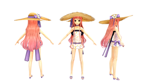 MMD Swimsuit Wilbell by ChocoKobato
