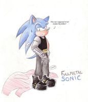 Sonic's... Automail? by MilesTailsPrower-007