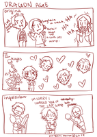 Dragon Age Comic by morgandesu