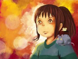 Spirited Away by Andreanable