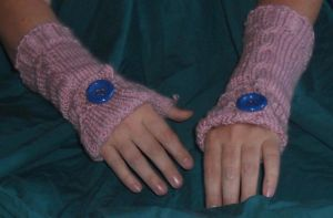 Rose Commuter gloves by Glori305
