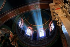 Shaft of light in Church by CitizenFresh