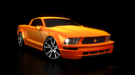 mustang-blender by malcolmego