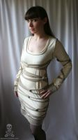 mummy wrap dress 2 by smarmy-clothes