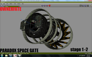ParaDOX space gate stage 1 - 2 by ownerfate