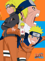 Growth of Uzumaki Naruto by TheMuseumOfJeanette