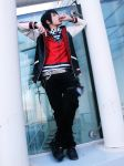 3 Way stand off: Izaya Orihara by Smexy-Boy